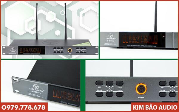 Micro không dây VinaKTV S800 Pro