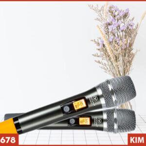 Micro không dây VinaKTV S800 Pro - Tay cầm