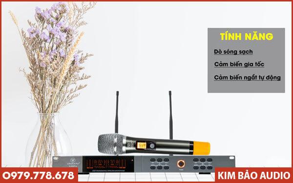 Micro không dây VinaKTV S800 Pro - Chính hãng