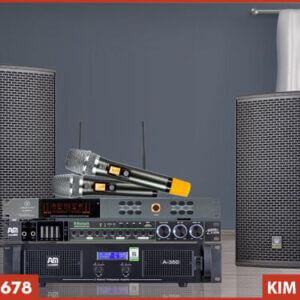 Micro VinaKTV S800 Pro - Kết hợp bộ dàn