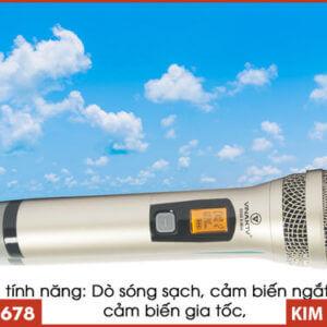 Micro VinaKTV S500X Max - Tay Cầm