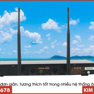 Micro Không dây VinaKTV S500X Max - Mặt sau