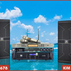 Micro VinaKTV S500X Max kết hợp bộ dàn