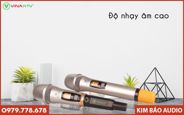 Micro VinaKTV S600X Max - Tay cầm