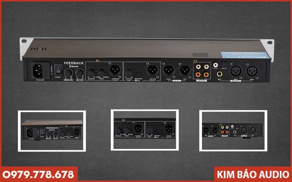 Vang cơ AM K8200 - Đa dạng cổng kết nối