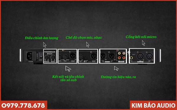 Vang cơ AM K8200 - Cách kết nối AM K8200