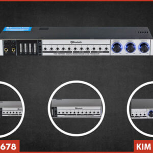 Vang cơ AM K8200 - Tinh chỉnh đơn giản