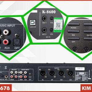 Vang cơ liền số AM K8600 - Đầy hiện đại và sang trọng