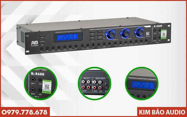 Vang cơ liền số AM K8600 - Kiểu dáng bắt mắt, dễ dùng