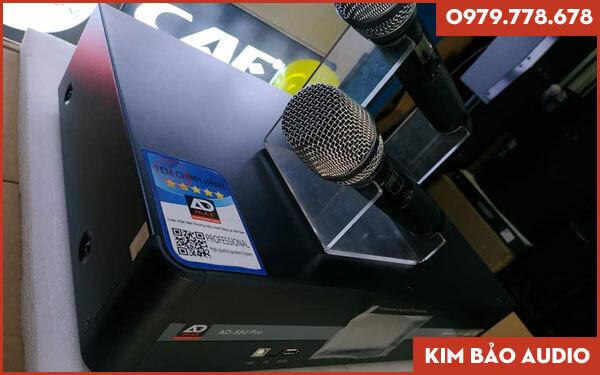 Amply liền Micro ADmax AD 550 Pro