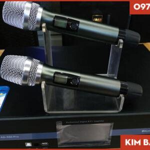 Main kèm vang liền Micro ADmax AD 550 Pro