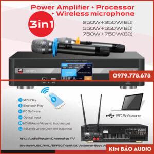 Đẩy liền vang kèm micro ADmax AD 550 Pro