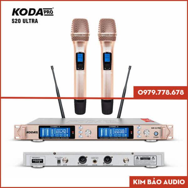 Micro không dây Koda S20 Ultra