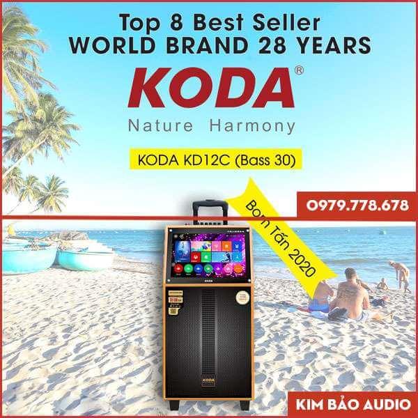 Loa Kéo có màn hính Koda KD12C