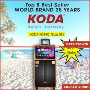 Loa Kéo có màn hính Koda KD18C