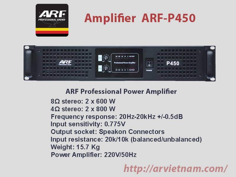 Cục đẩy công suất ARF P450