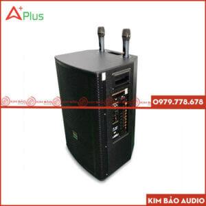 Loa kéo Aplus LK151 (Đen) - Loa kéo bass 40Cm
