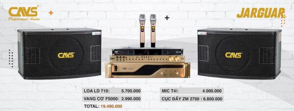 Bộ dàn karaoke gia đình 20 triệu