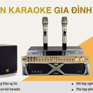Bộ dàn âm thanh karaoke gia đình chuẩn hiện nay