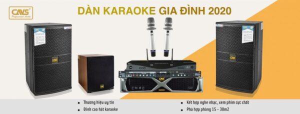 Dàn karaoke gia đình chuẩn