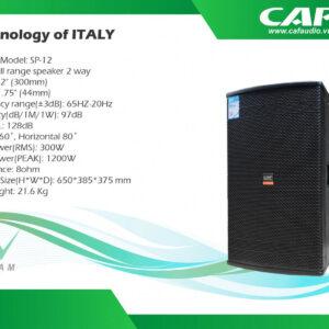 Loa CAF SP12