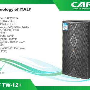 Loa CAF TW12 Plus