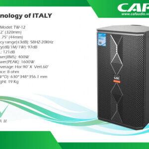Loa CAF TW12