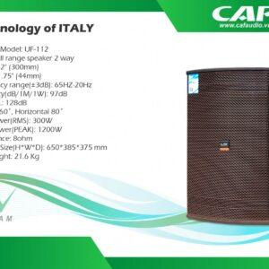 Loa CAF UF112