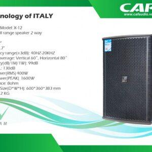 Loa CAF X12