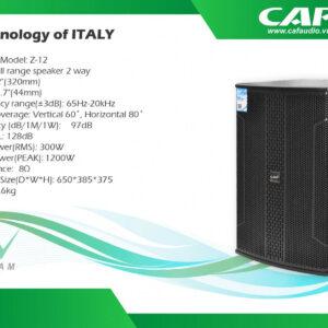 Loa CAF Z12