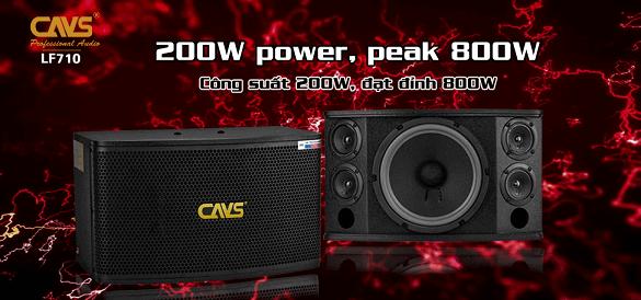 Loa karaoke CAVS LF 710